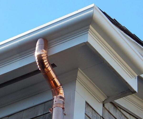 Rain Gutter Replacement Repair Pelle Heating Air Conditioning